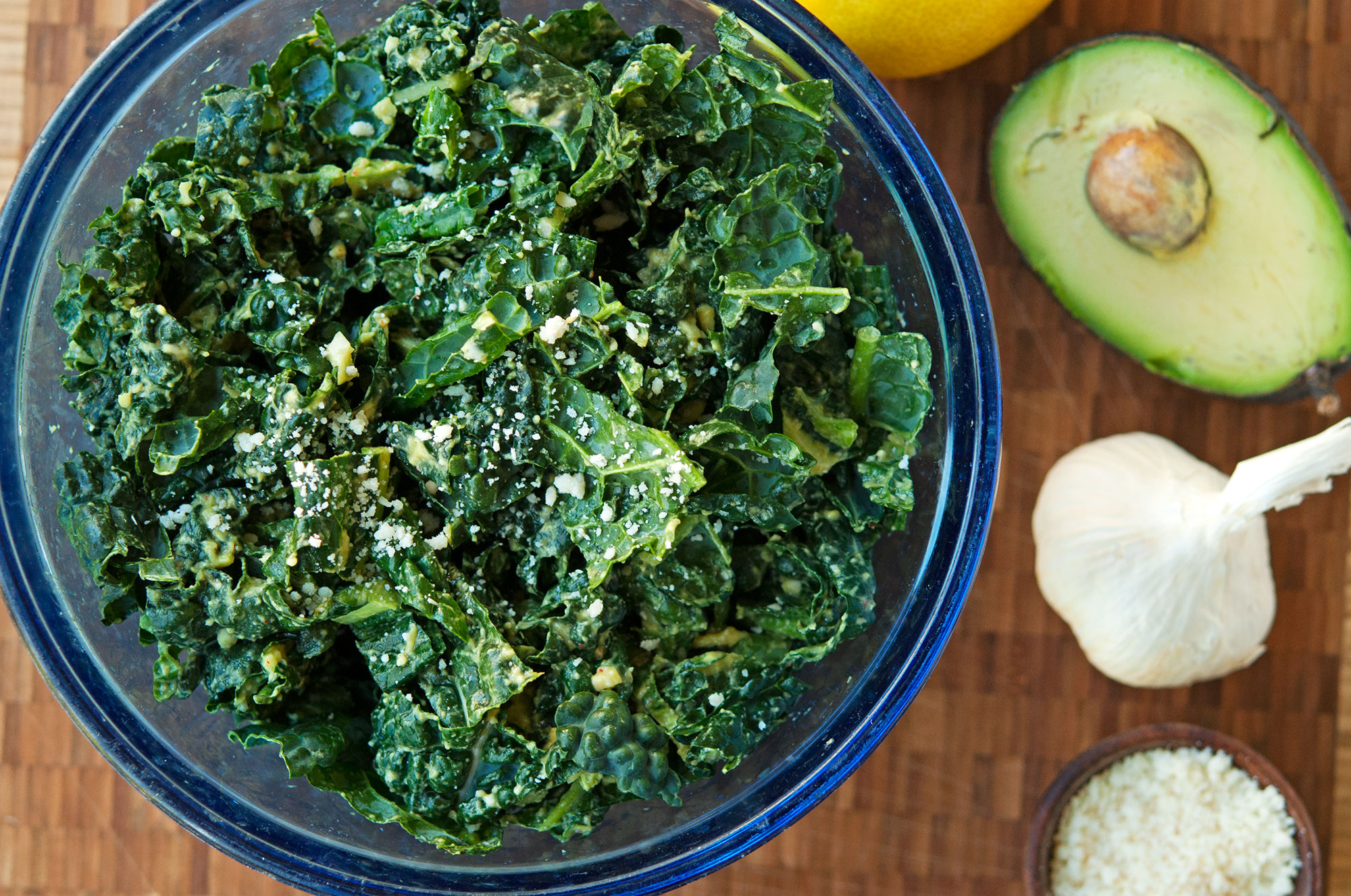 Ana's Kale Salad | That's Our Jam Podcast | Garlic, My Soul